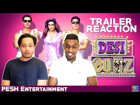 Desi Boyz Trailer Reaction & Review | PESH Entertainment