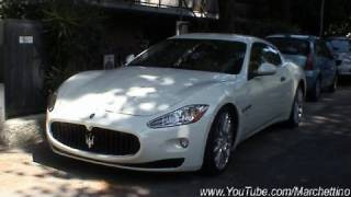 Maserati Granturismo S Automatica Start up & Drives Off