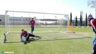 Keeper Fitness Drill