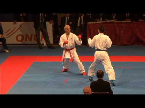 2009 WKF Jr Worlds -21 Men -68 Kg Aka USA vs Ao Hong Kong China...