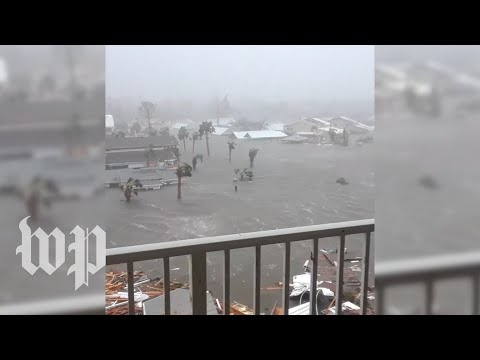Sights and sounds of powerful Hurricane Michael