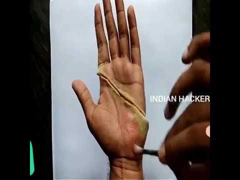 AMAZING Hand CUT Magic Trick| Tutorial | INDIAN HACKER