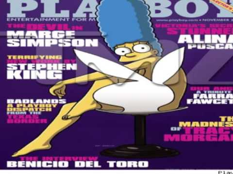 Marge simpson naked on playboy 39 s november cover - Marge simpson nud ...