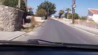 Driving through Lapithos & Karavas in Cyprus (Oct 23, 2013)