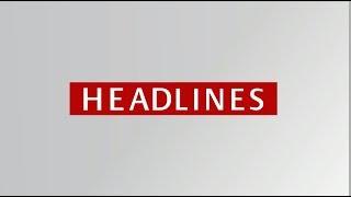 Top Headlines (English - 8 am)