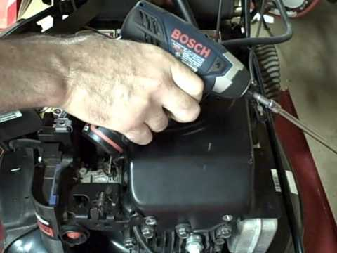 Small Engine Repair Easy Way To Adjust Ignition Armature