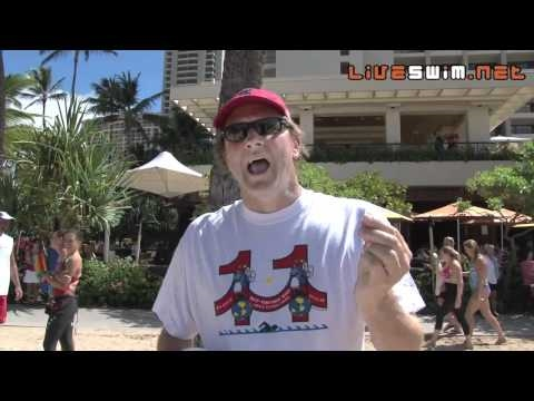 Robert Placak post race interview - 2010 Waikiki Rough Water Swim