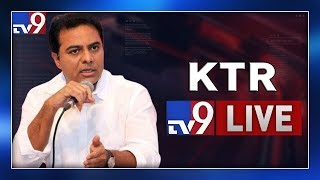 Minister KTR Addressing at Man'EXE-2019 LIVE || HICC Kondapur - TV9