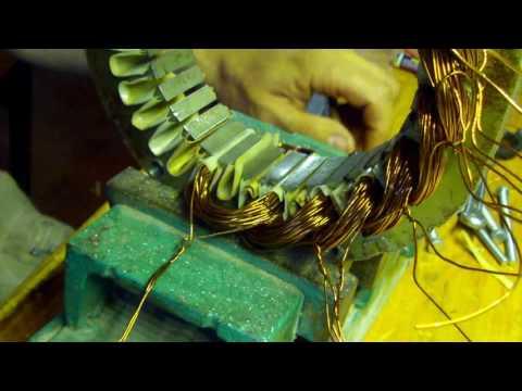 Все подробности о намотке генератора на железе с асинхронника