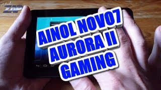 Ainol Novo7 Aurora II 2 Gaming Test - Dual Core Tablet - Android ICS - IPS - Merimobiles ColonelZap