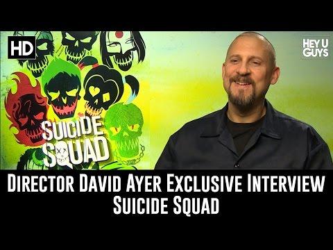 Director David Ayer Exclusive Interview - Suicide Squad