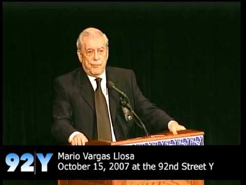 0 Mario Vargas Llosa at the 92nd Street Y