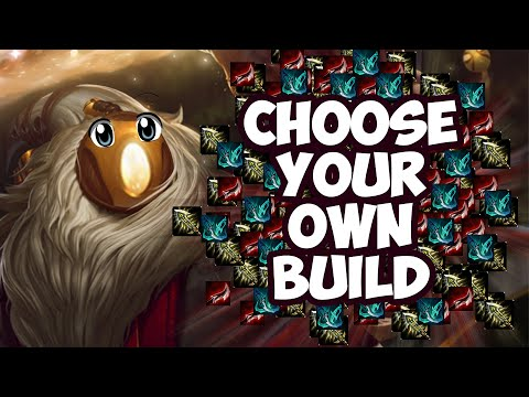 Choose Your Own Adventure - Bard - League of Legends