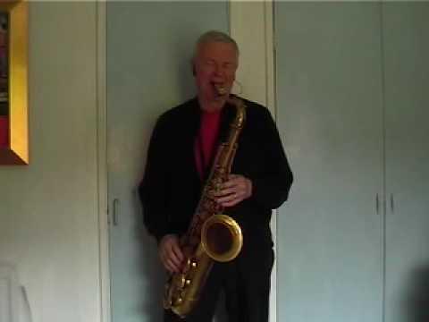 Somewhere over t'Rainbow - Tenor Sax jazz improvisation