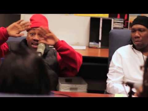 KRS-ONE & Planet Asia 90.7 Interview at Fresno State Part 2