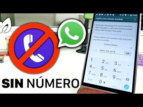 VIDEO: CÓMO TENER WHATSAPP SIN UN NÚMERO DE TELÉFONO (ANDROID - IOS)