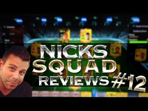 FIFA 14 Nick's Squad Reviews - Cheap IF BPL team - IF Howard. IF Lallana. SIF Caulker. IF Mert etc