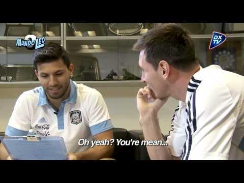 El Kun Agüero entrevista a Leo Messi