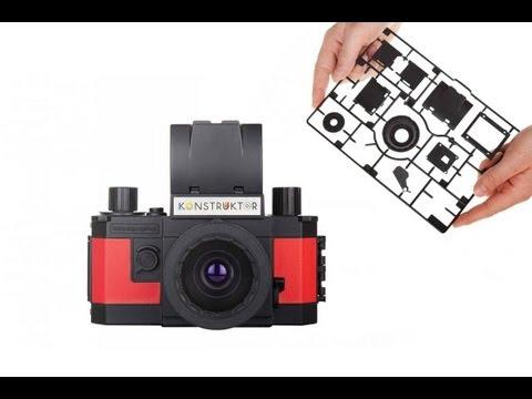 Lomography Konstruktor --The World's 1st 35mm Do-it-Yourself SLR Camera!