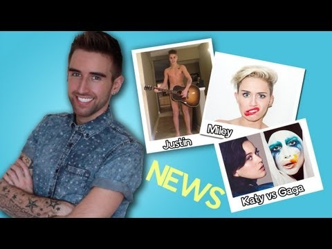 KATY PERRY vs LADY GAGA | Sexy MILEY CYRUS?? | Naked JUSTIN BIEBER!!!!