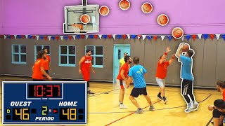 Playing The BEST Team - BASKETBALL GAME 2