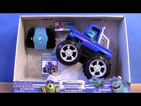 Disney Cars Sulley Monster Truck Bigfoot Monsters University Pixar Monsters Inc 2 Tormentor