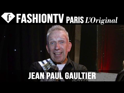 Jean Paul Gaultier Exclusive Interview | Paris Fashion Week Spring 2015 | FashionTV