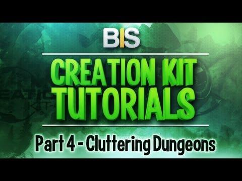 Skyrim Creation Kit Tutorials - Episode 4: Adding Clutter To Dungeons