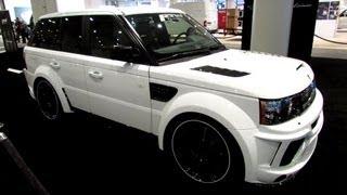 2012 Range Rover Sport - Mansory Kit by RTW Motoring - Exterior Walkaround - 2013 NY Auto Show