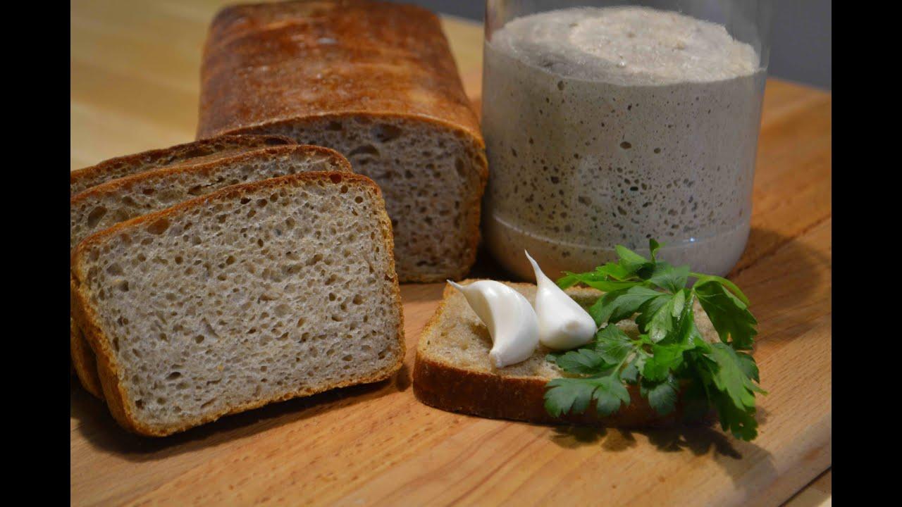 Как приготовить ржаную закваску для ржаного хлеба в домашних условиях