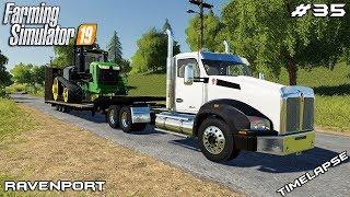 New John Deer tractor | Animals on Ravenport | Farming Simulator 19 | Episode 35