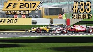 NEK AAN NEK VOOR DE BOCHT - F1 2017 Career Mode #33 (Seizoen 2: Italië)