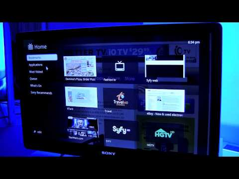 Sony Internet TV Hands-On