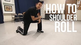 How to Breakdance: Shoulder Roll | Basic Tumbling