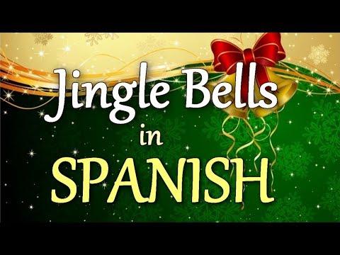 JINGLE BELLS in SPANISH (sing along)