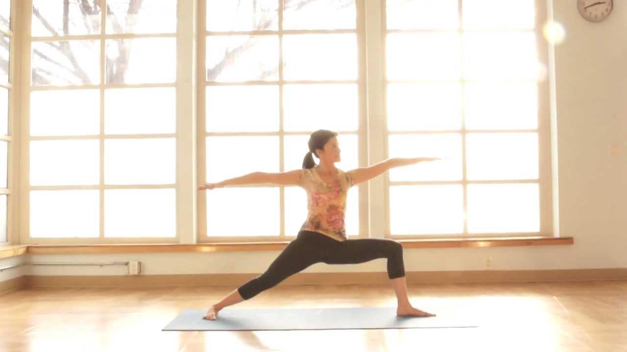 Explore Warrior Pose (Virabhadrasana) 1, 2, & 3 - YouTube