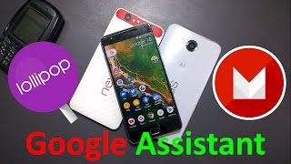 how to install or activate google assistant on Android Marshmallow and Lollipop