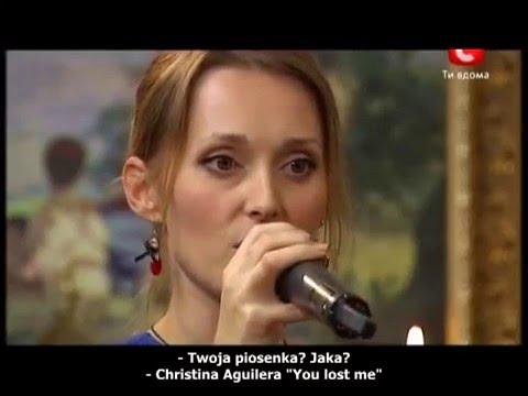 Aida Nikolaychuk Christina Aguilera 'You lost me' full [Polish Subtitles Napisy PL]