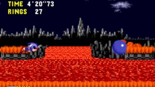 Ordinary Sonic Rom Hack (Game Over)
