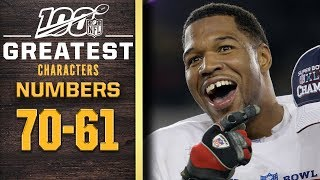 100 Greatest Characters: Numbers 70-61 | NFL 100
