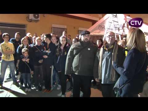 LA NIT D'ALBAES PORTA A LES FALLES DE CULLERA ESTE CANT TRADICIONAL
