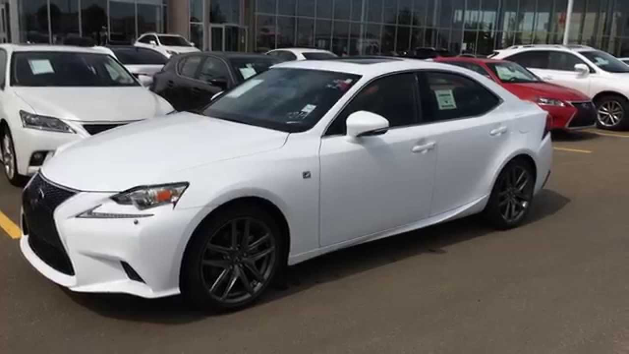 2015 Lexus Is 250 Red 200 Interior And Exterior Images