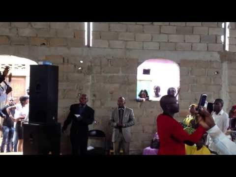Worship Service with 3 Mennonite denominations in Angola
