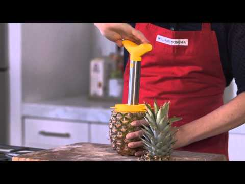 How to Slice and Cube Pineapple Easily | Williams-Sonoma