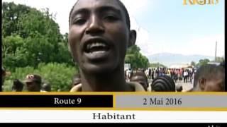 VIDEO: Haiti - Lapli, Gade Mize Malere ap pase pou traverse Pont Route 9 la ki KRAZE depi 3 Mois