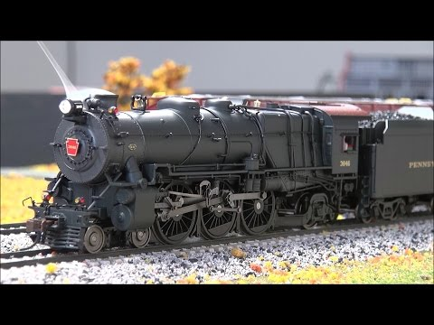 Broadway Limited K4S in Paragon 3 DC/DCC/Sound Review BLI