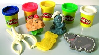 PLAY DOH Disney The Lion Guard Kion and Friends ❤ 2017 ❤ Pawprint Stampers Kion Bunga Fuli Beshty