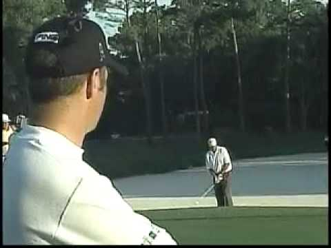 Ted Purdy and Stewart Cink battle at the 2004 MCI Heritage Video