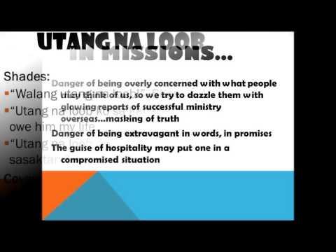 Filipino Values Education Filipino Values in Missions