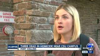 3 dead, including CSU student, in Fort Collins shooting near campus